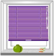 Plissee  Rechteckfenster