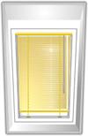 Jalousie für Velux® Fenster PVC